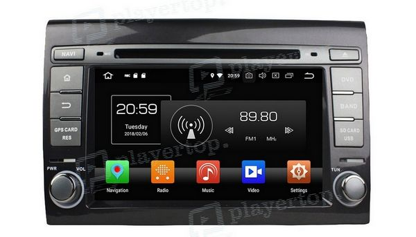 autoradio gps dv tv